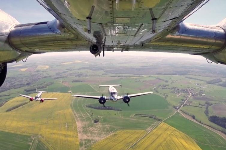 Classic Formation – Flight Training 2014