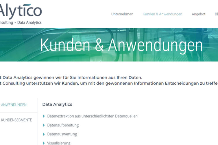 Corporate identity of Alytico