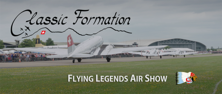 Classic Formation – Flying Legends Duxford