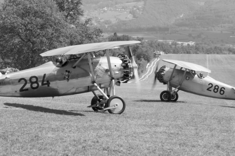 Patrouille Dewoitine – Swiss Air Force 1931