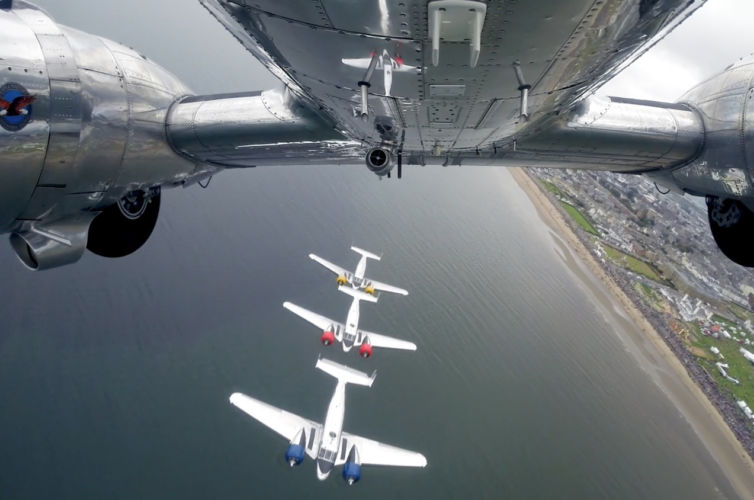 Classic Formation – Scottish International Airshow