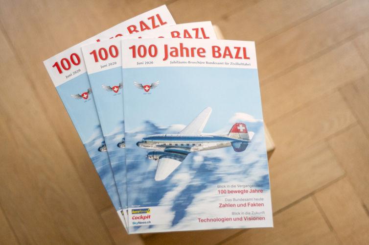 100 Jahre Bundesamt für Zivilluftfahrt BAZL