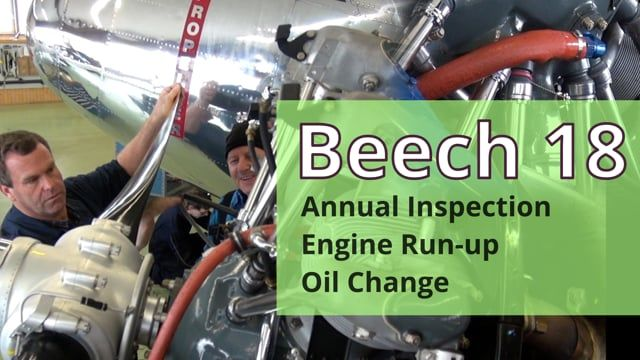 Beech 18 Annual Inspection