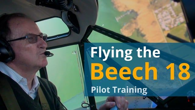 Beech 18 | Pilot Training
