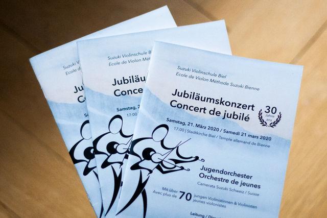Brochure: Suzuki Violinschule Biel